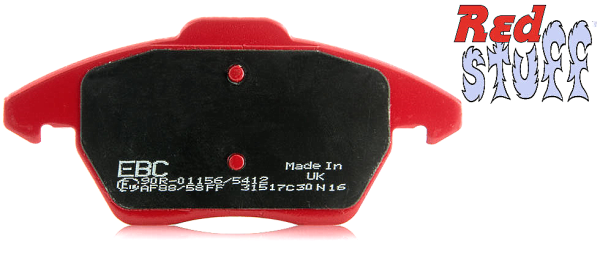 Klocki hamulcowe EBC Red Stuff ceramiczne