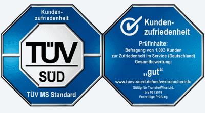 Certyfikat TUV na klocki i tarcze hamulcowe